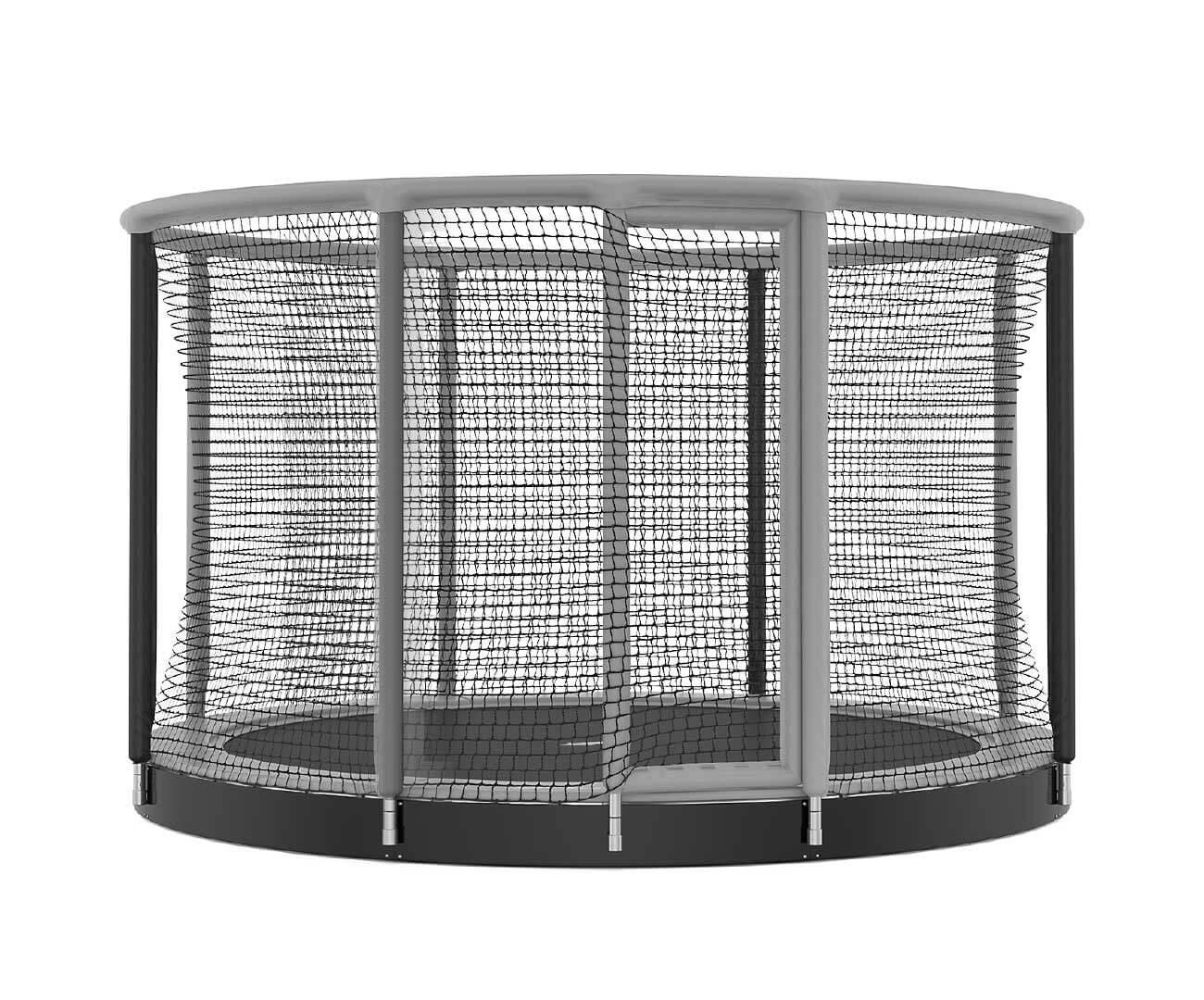 Akrobat Gallus Inground Grey-black enclosure /Black safety pad/ Grey jumping mat