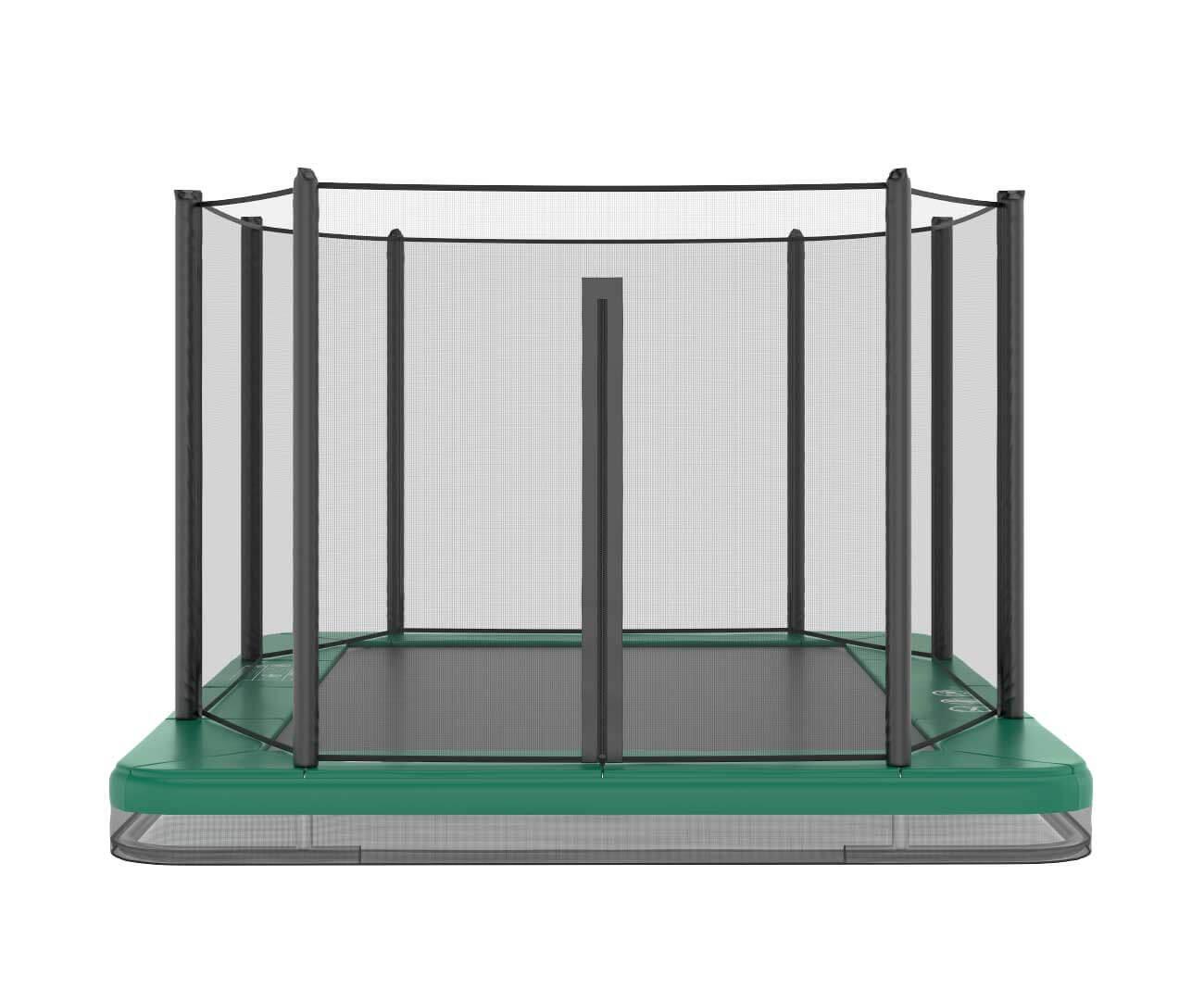 Akrobat Orbit Inground Green safety pad/Black jumping mat