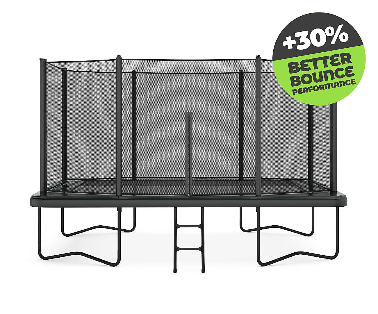 Sport trampoline for experienced jumper