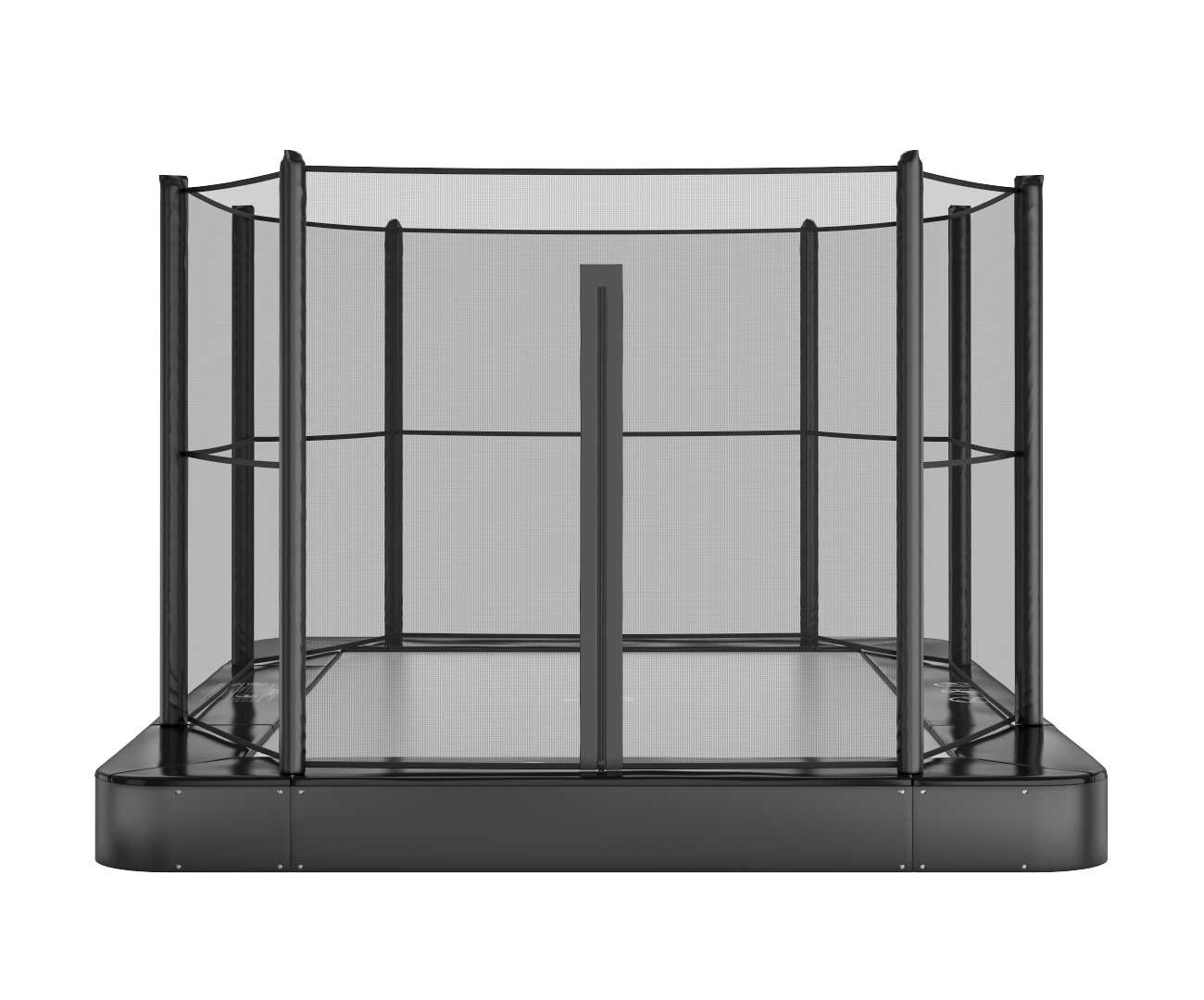 Akrobat Primus Flat 14x10 Black Safety pad/Grey jumping mat