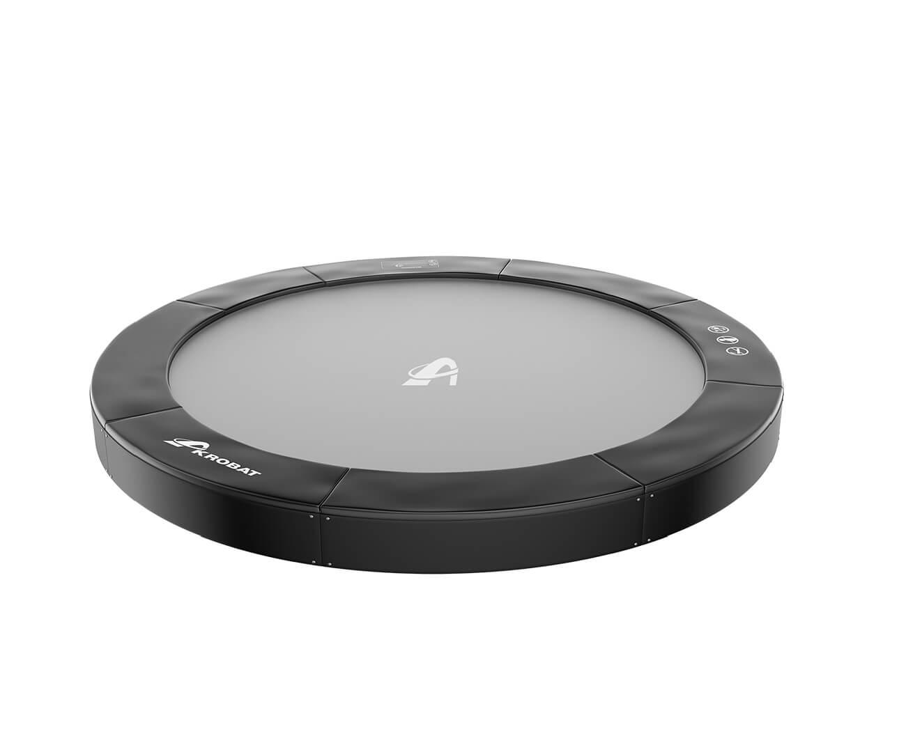 Akrobat Primus Premium 8 Grey safety pad/Black jumping mat