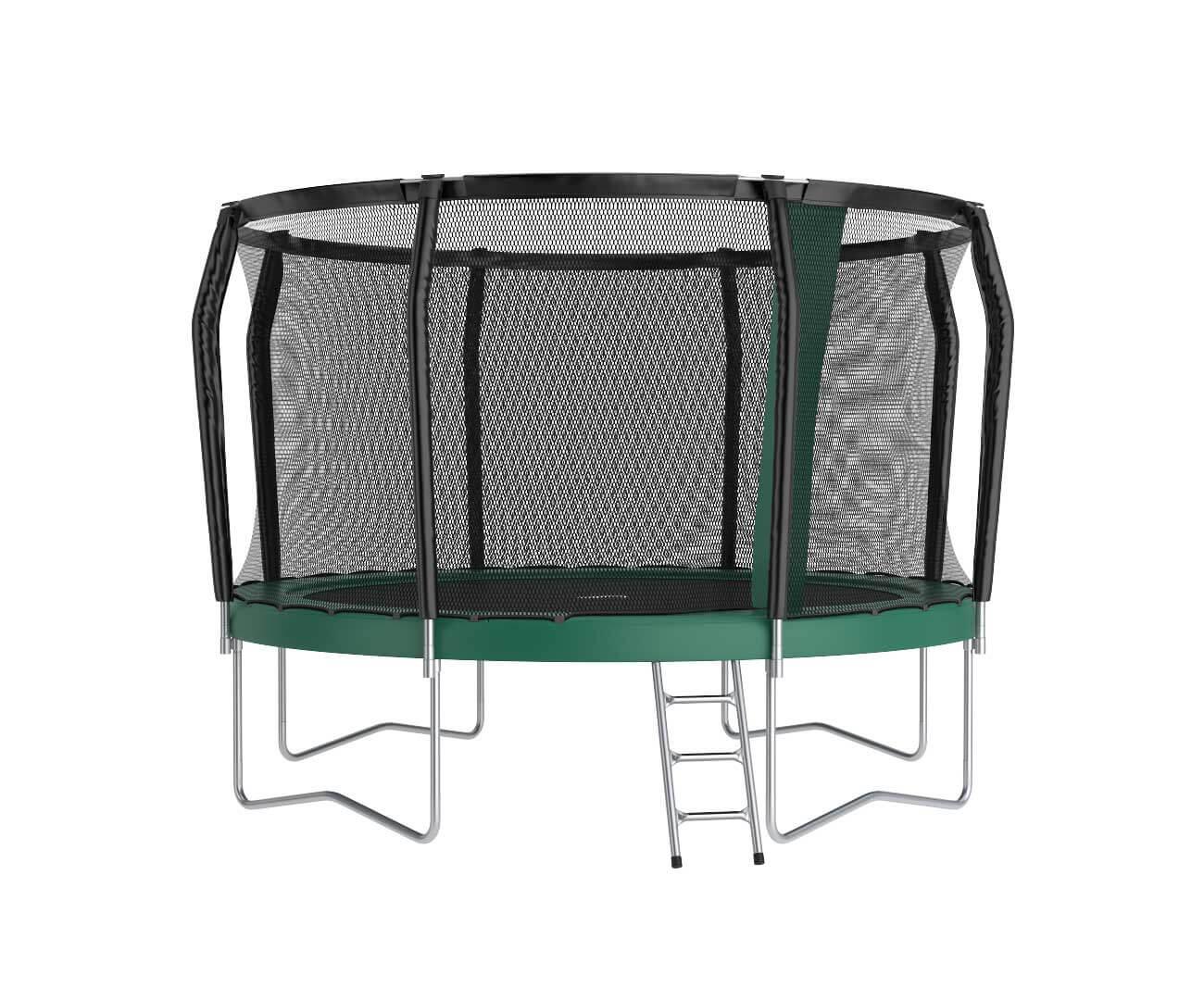 Akrobat Orbit PRO 12 Green safety pad/Black jumping mat