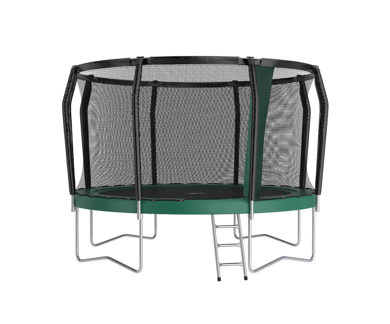 Akrobat Orbit PRO 10 Green safety pad/Black jumping mat