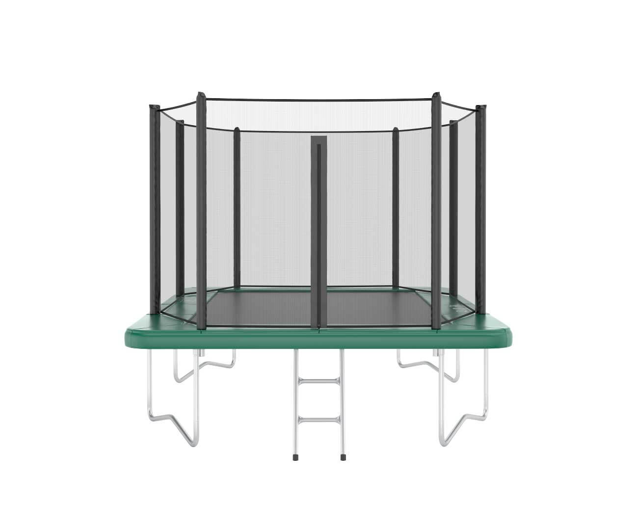 Akrobat Orbit 11x8 Green safety pad/Black jumping mat