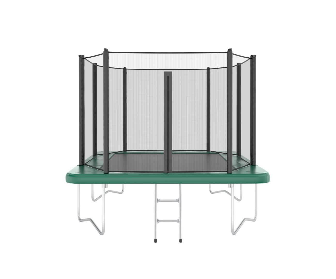 Akrobat Orbit 10x6 Green safety pad/Black jumping mat