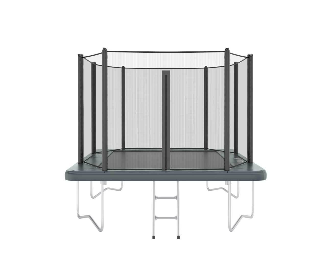 Akrobat Orbit 11x8 Grey safety pad/Black jumping mat