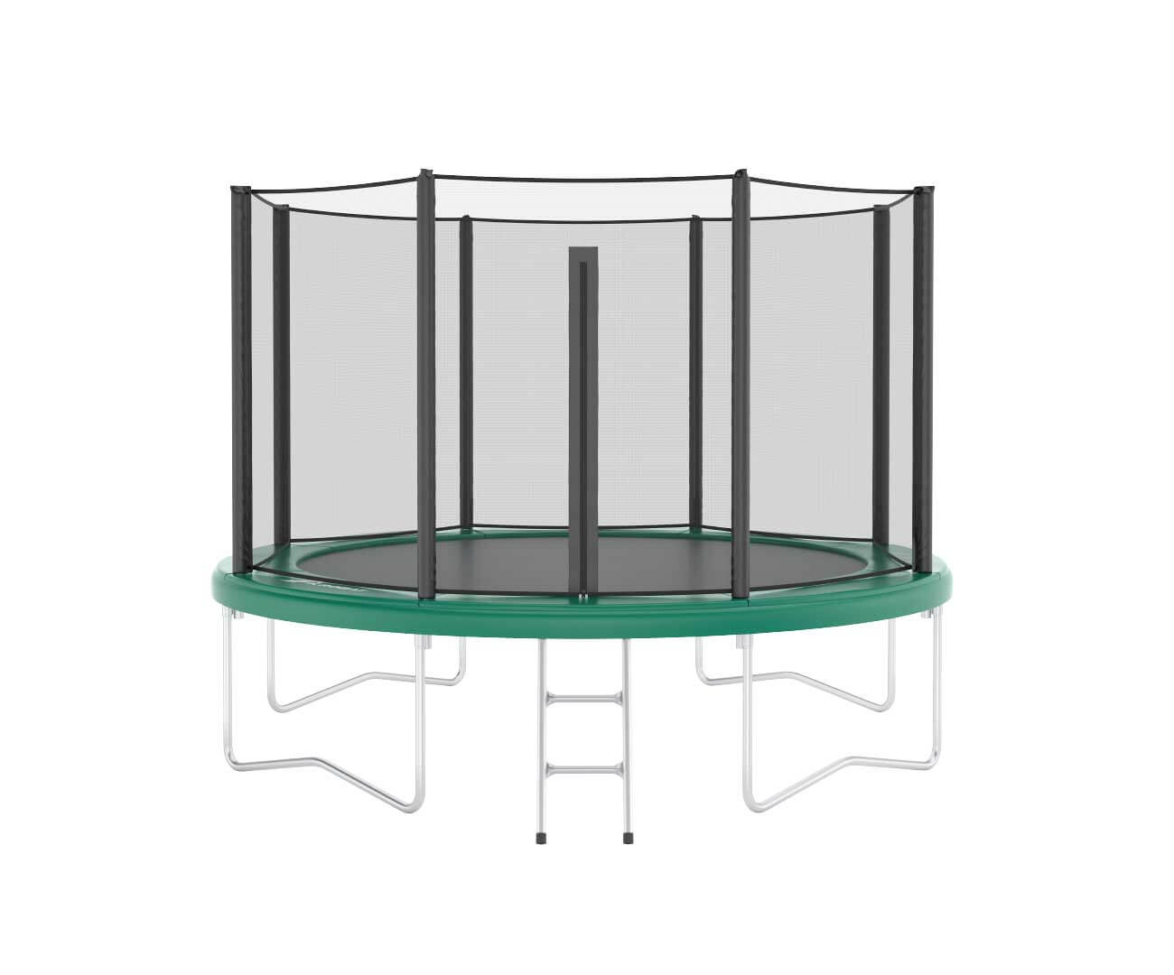 Akrobat Orbit 14 Green safety pad/Black jumping mat