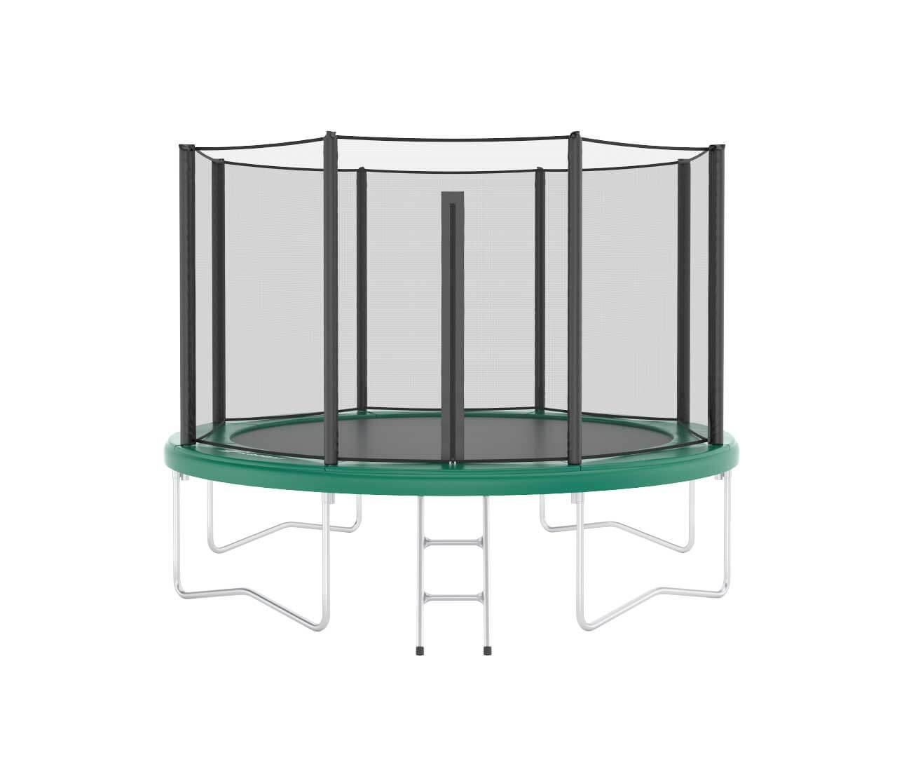 Akrobat Orbit 10 Green safety pad/Black jumping mat