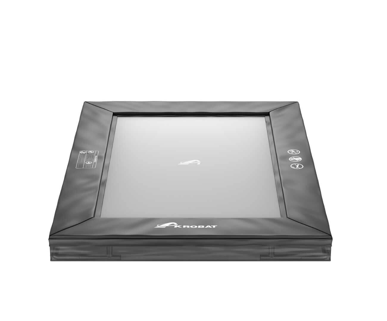 Akrobat Primus Inground 11x8 Black Safety pad/Grey jumping mat