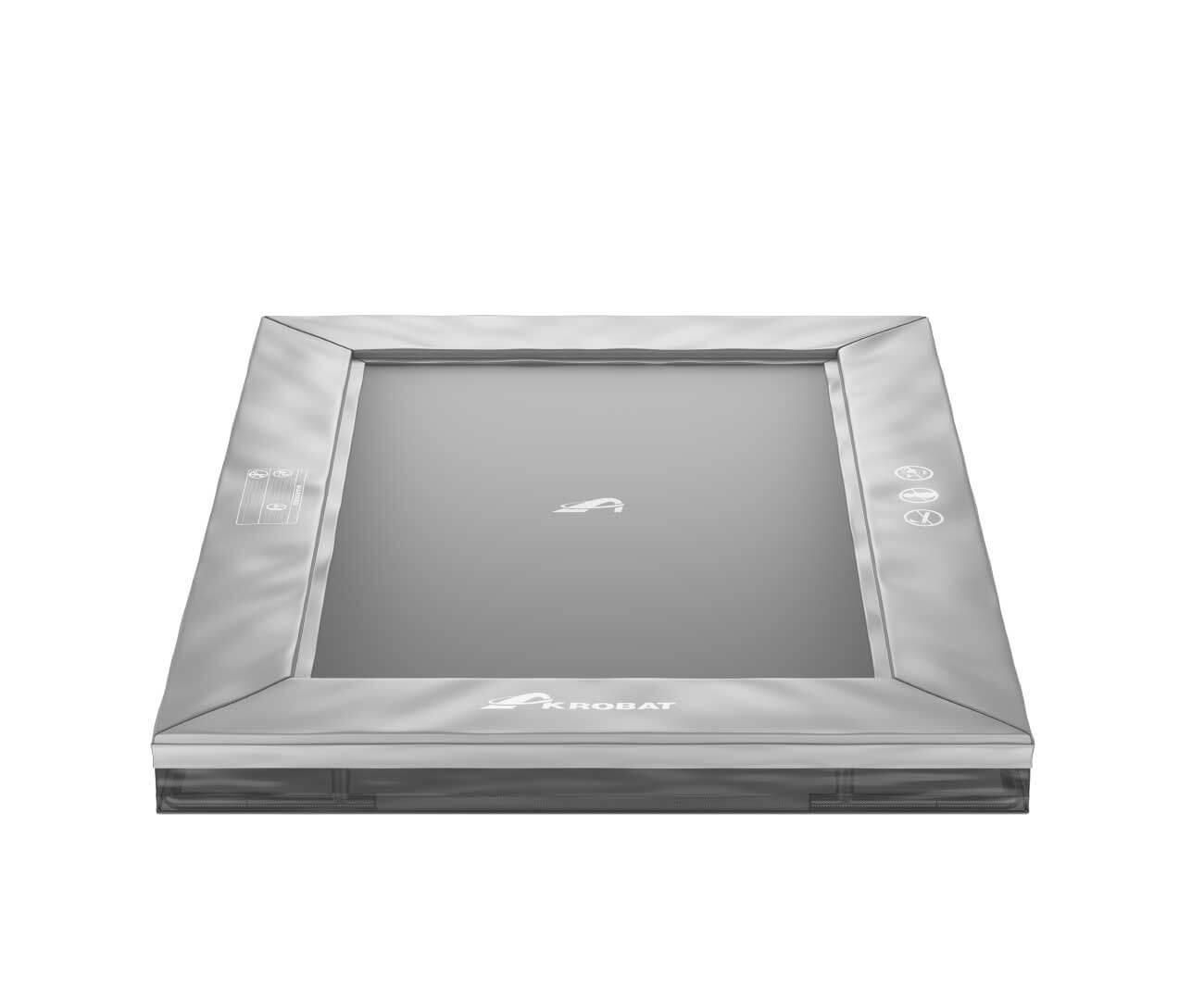 Akrobat Primus Inground 11x8 Grey safety pad/Black jumping mat