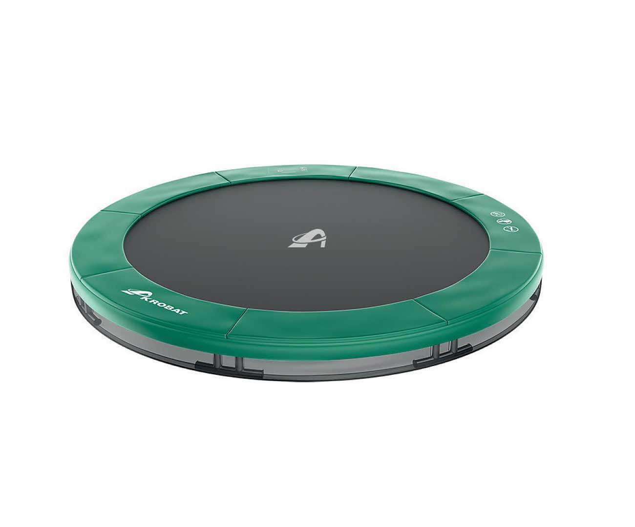 Akrobat Primus Inground 14 Green safety pad/Black jumping mat