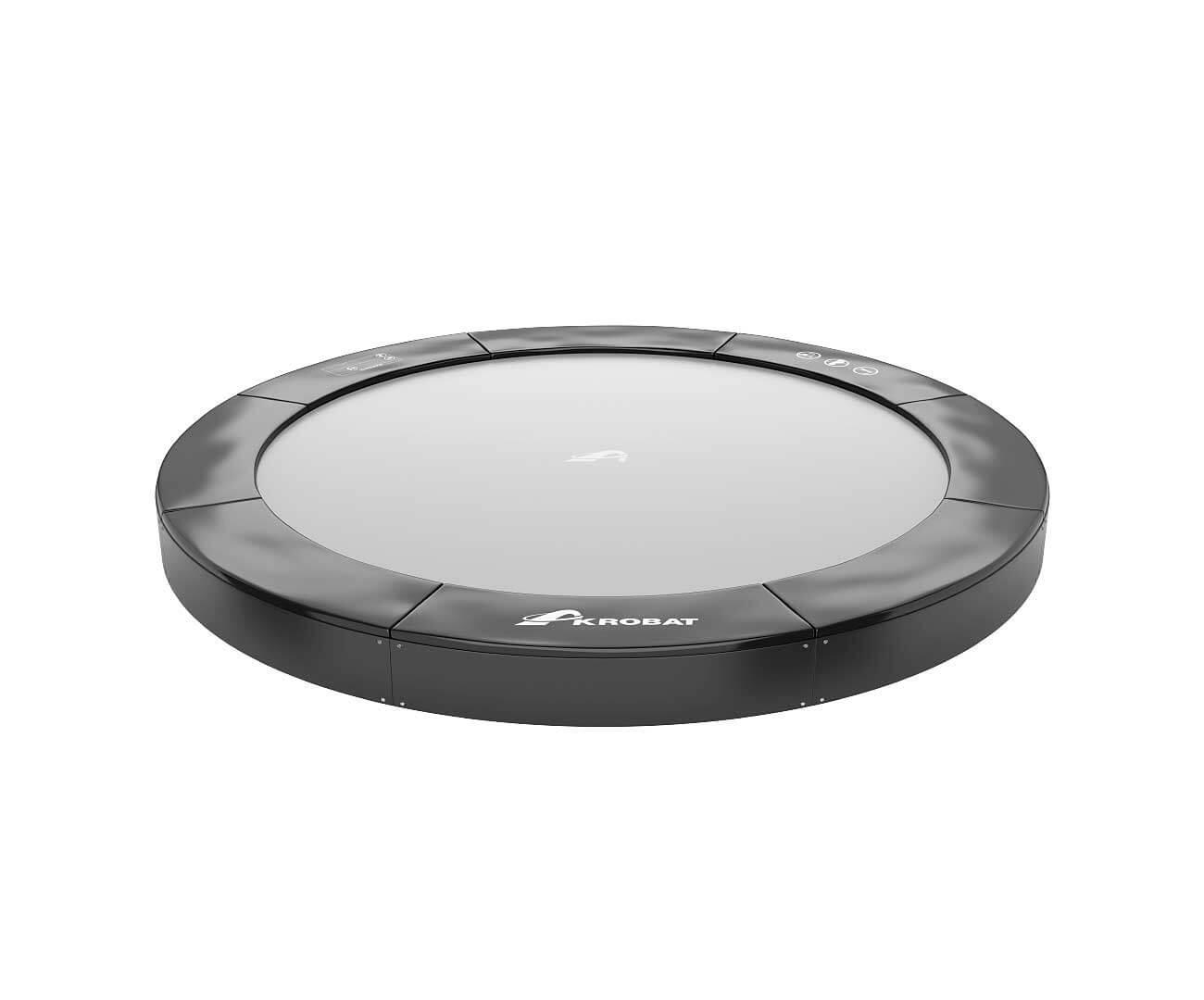 Akrobat Primus Inground 10 Black Safety pad/Grey jumping mat