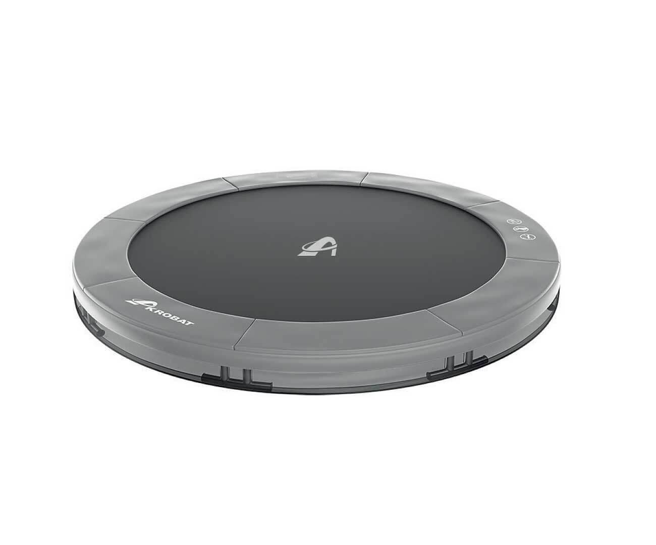 Akrobat Primus Inground 12 Grey safety pad/Black jumping mat